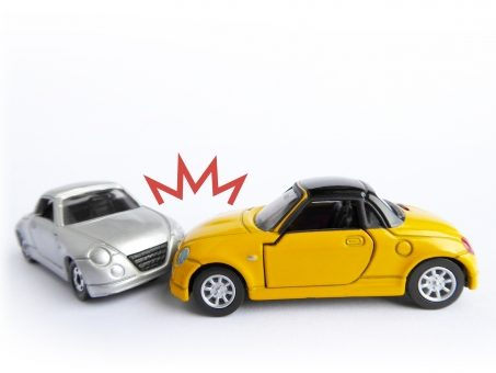 車の2大事故している
