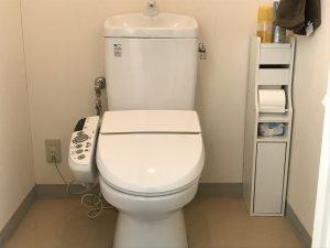 トイレはいつも清潔に